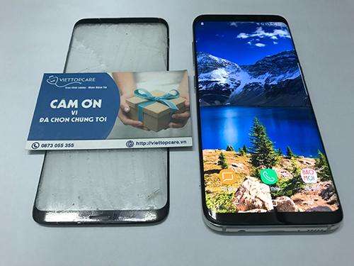 Thay màn hình samsung s8/s8 plus giá tốt tại Viettopcare tphcm