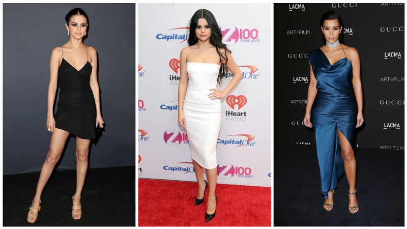 Celeb Sexy Dress Collage