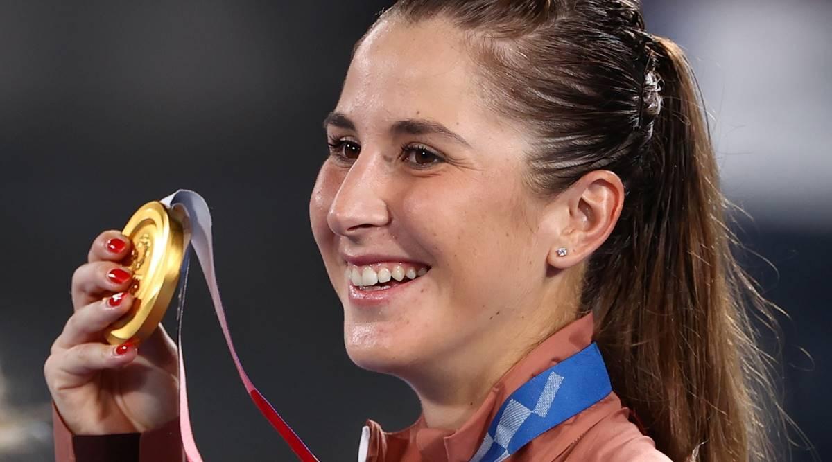 贝琳达本契奇拿下了2021年东京奥运的女子单打金牌