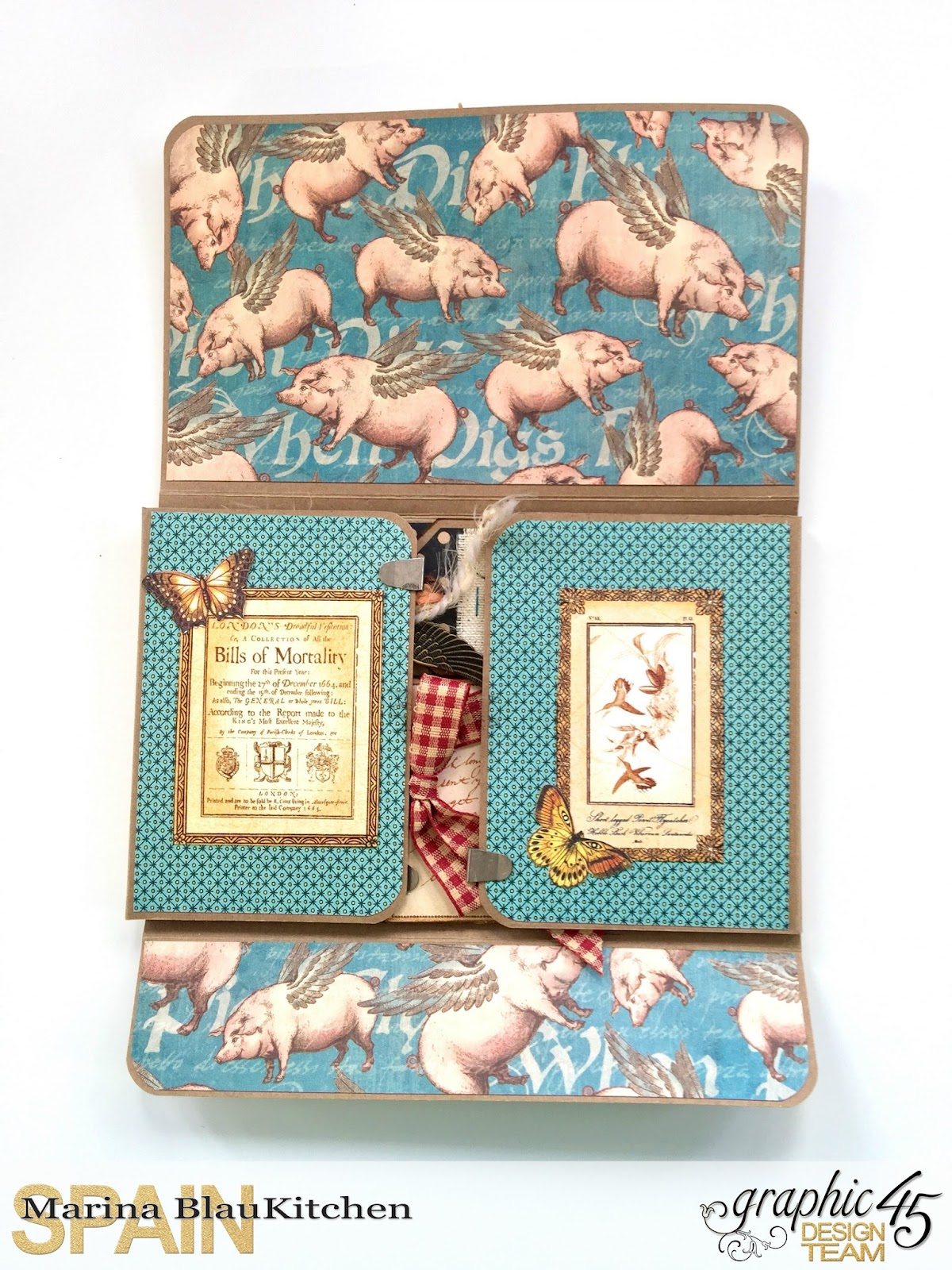 Olde Curiosity Shoppe Flip Flap Mini Album by Marina Blaukitchen Product by Graphic 45 photo 4.jpg