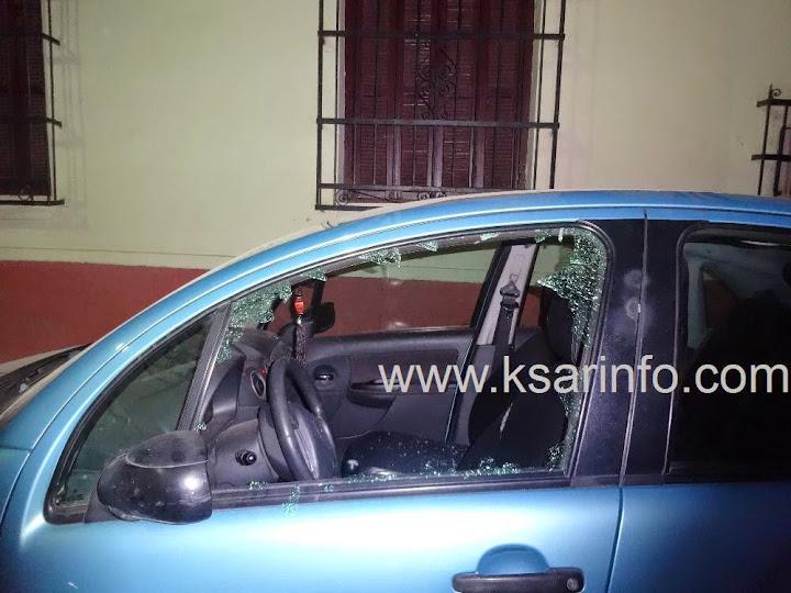 القصر الكبير: مجهولون يكسرون زجاج عدد من السيارات بحي الأندلس