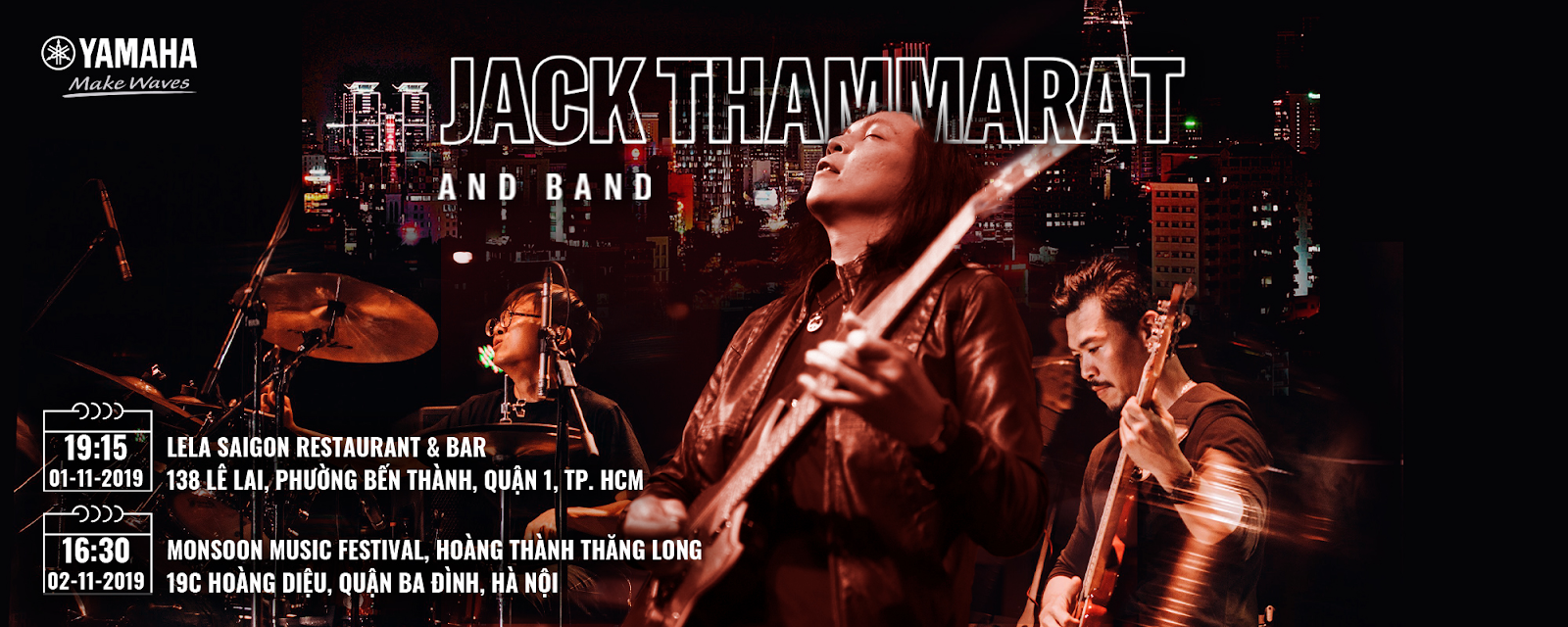 Jack Thammarat Tour