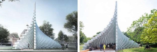 Bjarke Ingels' Serpentine Pavilion