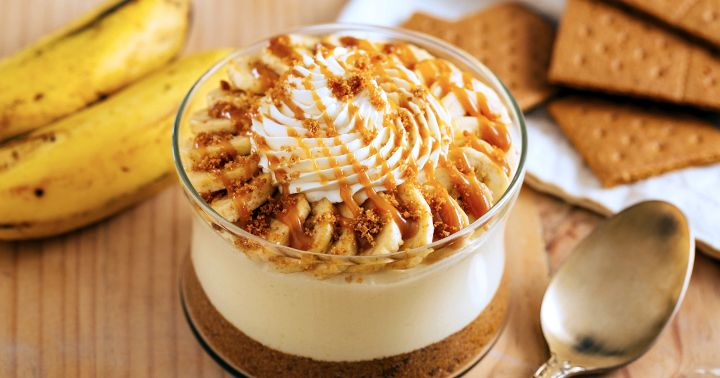 no-bake desserts banana cream pie