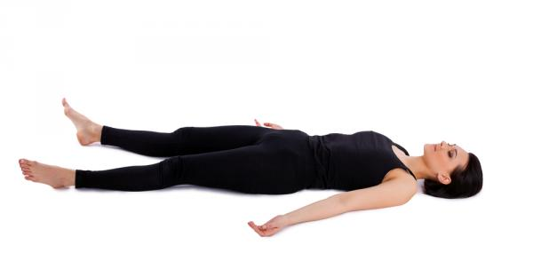 With Savasana get your body the needed rest.