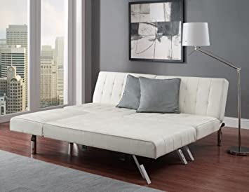 Modern sleeper Faux Leather Convertible Sofa bed