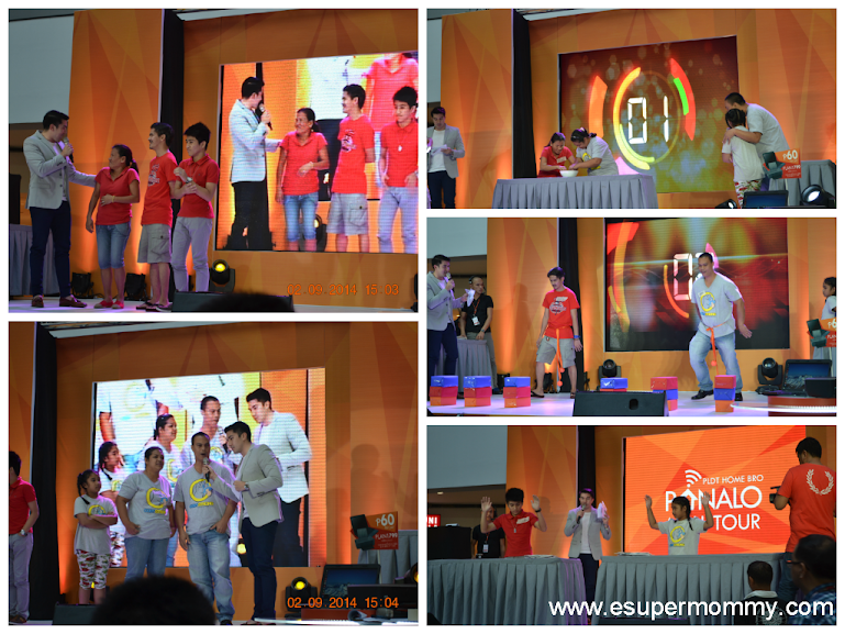 PLDT Home Bro PANALO MALL TOUR Contestants