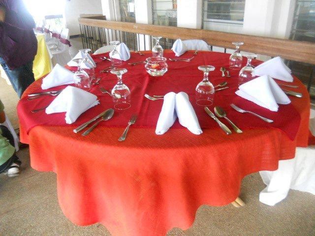 Student Laboratory Activity (Table Set-Up)