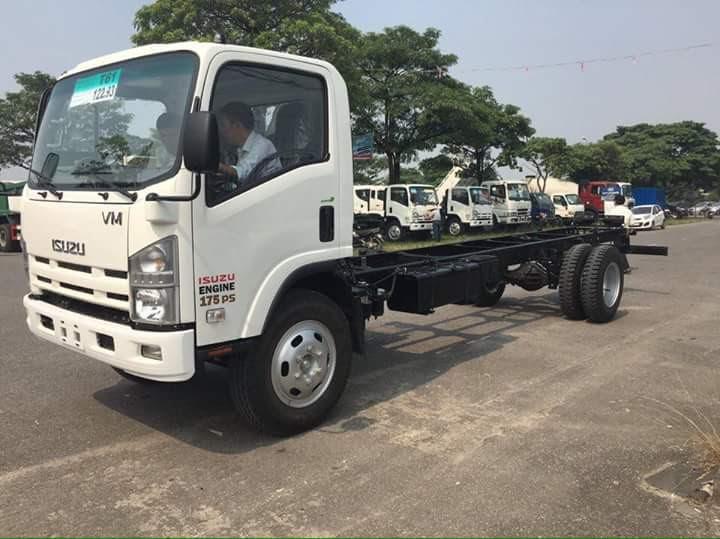 Bán xe tải isuzu 8t2 (8.2 tấn) FN129 thùng bạt,thùng kín chỉ cần 150tr nhận xe - isuzu vĩnh phát