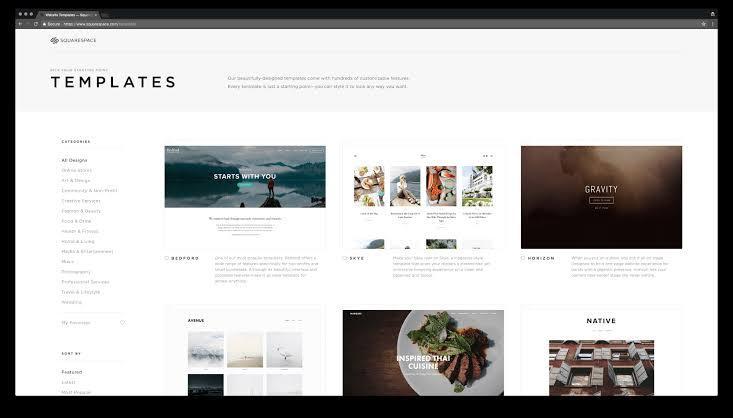 Wix website builder for artists