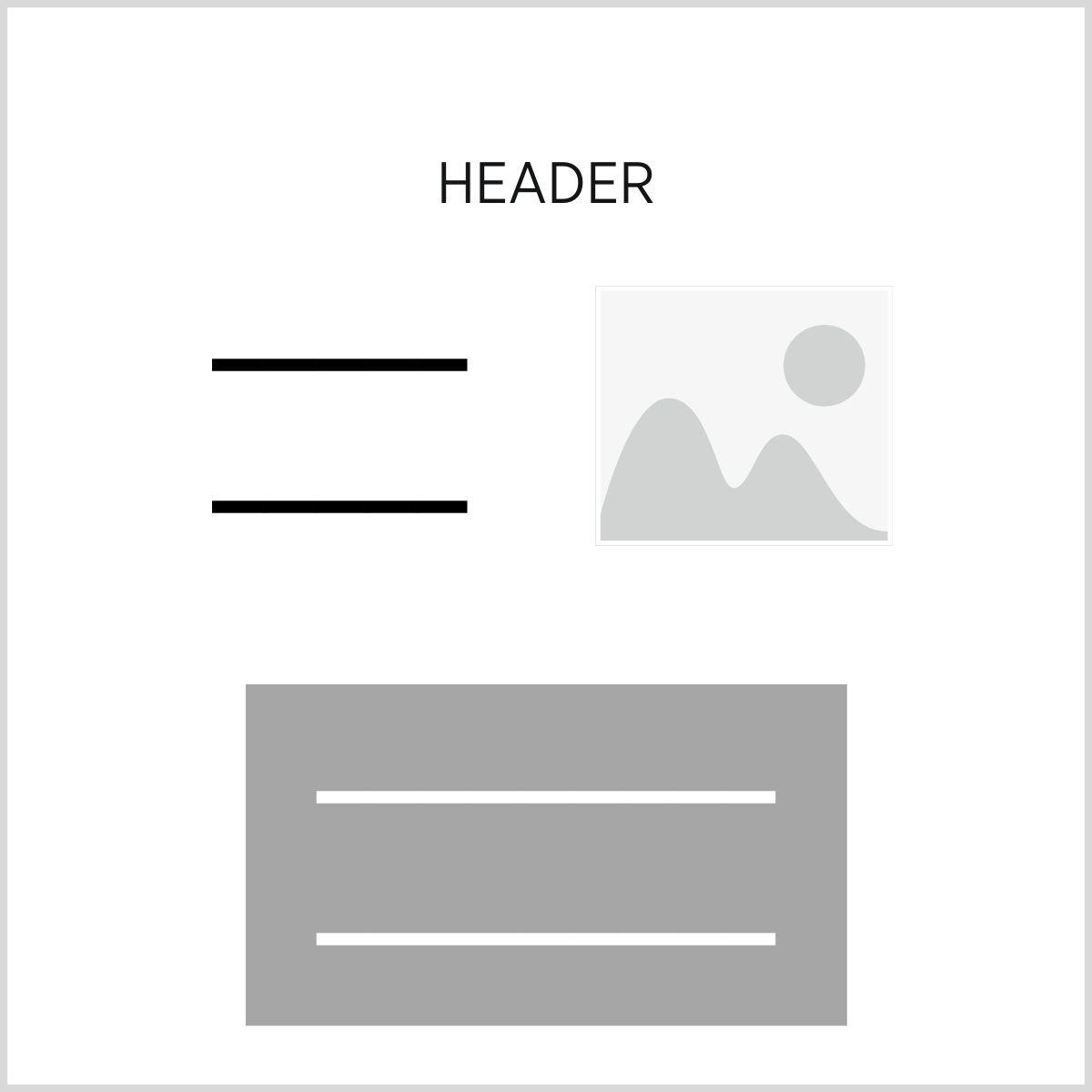 WordPress design example