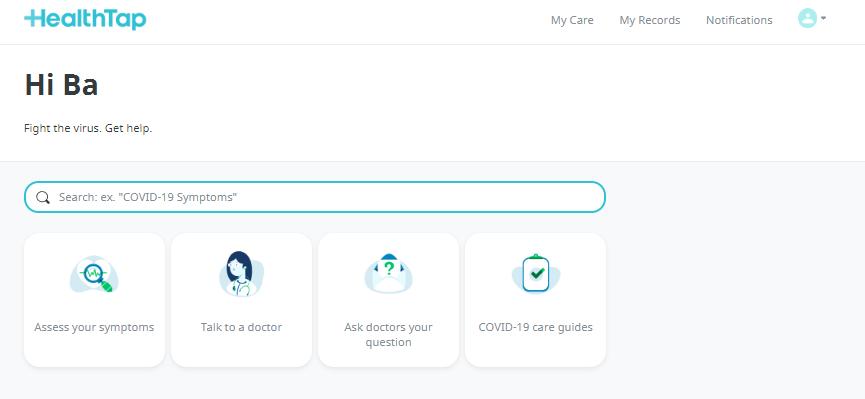 telehealth platform -healthtap