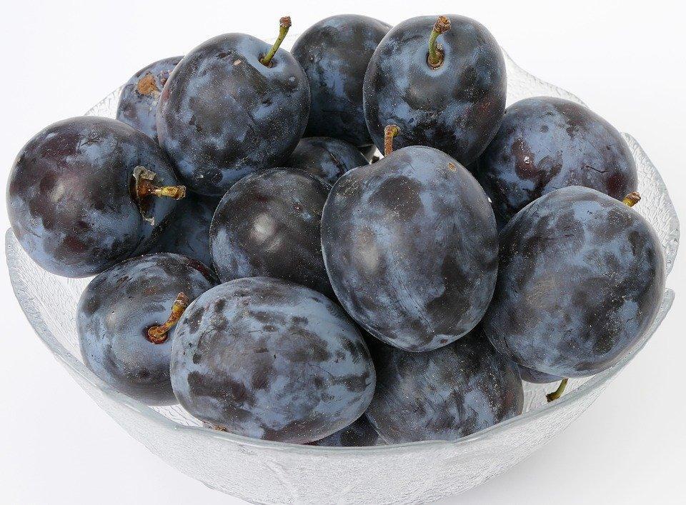 Plum, Fruit Bowl, Fruit, Stone Fruit, Fruit Growing