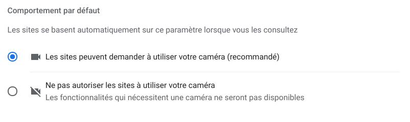 Comment désactiver la caméra sur un Chromebook