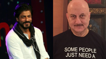 Politicians should stop talking rubbish about Shah Rukh Khan: Anupam Kher