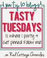 I party & get pinned at Tasty Tuesdays on Red Cottage Chronicles
