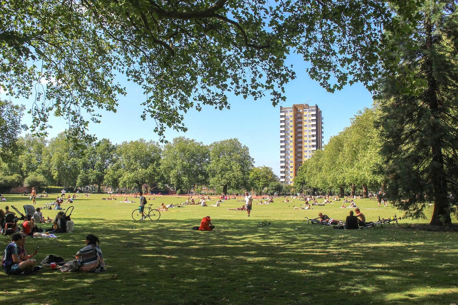 Parks in London - London Fields