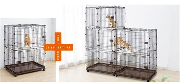 貓界豪宅 IRIS IR-PCS-932 可組合的貓籠開箱 - 10