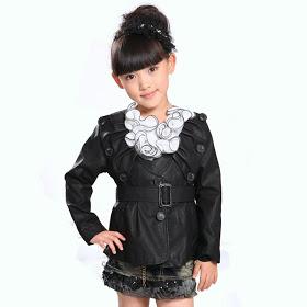 jaket kulit untuk anak wanita