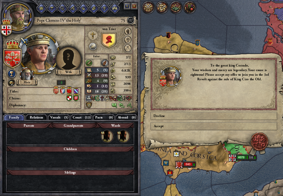 The Red Crown: a sAARdinian Tale | Page 11 | Paradox Interactive Forums