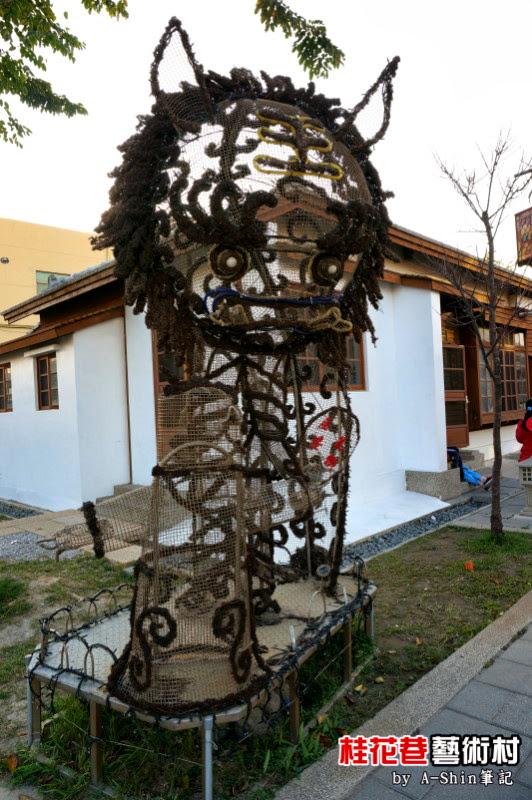 桂花巷藝術村|想在彰化鹿港找悠閒?桂花巷藝術村就一定得去一趟,欣賞各藝術家作品!