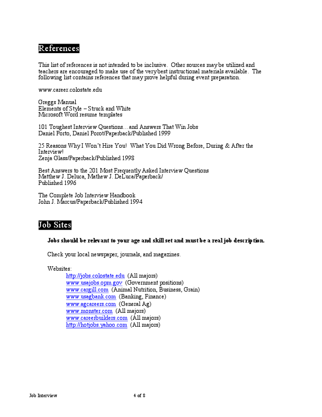 Ffa job interview cover letter for Covering letter for job interview