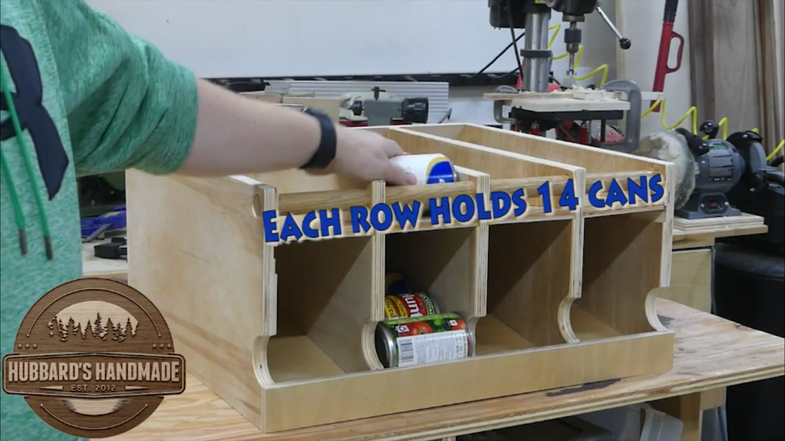 5 DIY Rotating Can Storage System