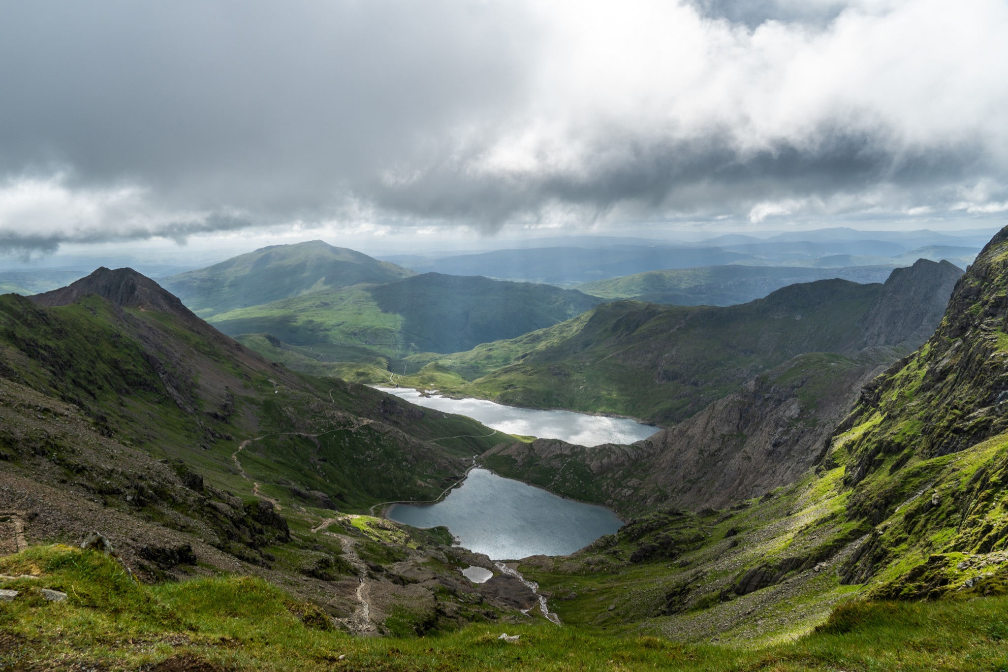 Tallest mountain in Wales