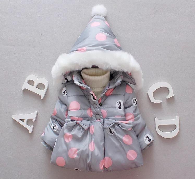Kurtki niemowlęce zimowe