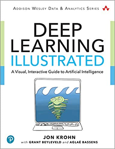 deep learning illustrated book cover