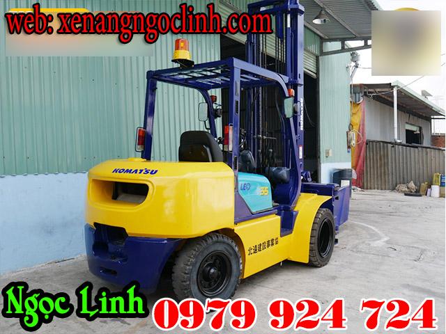 Xe nâng dầu cũ (qua sử dụng) komatsu 2000kg, 3500kg, 4000kg, 5000kg