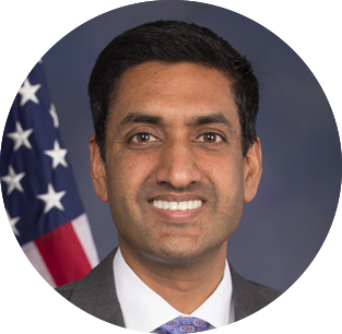 """If Bernie Sanders, in the minority in the Senate, can get 350,000 Americans a raise, imagine what he'll do when he's President on the United States."" - Ro Khanna"