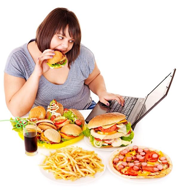 Chế độ ăn quá nhiều chất béo dẫn tới béo phì