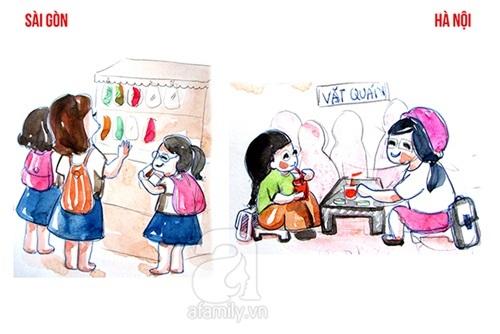 Sự khác biệt về phong cách sống Sài Gòn – Hà Nội
