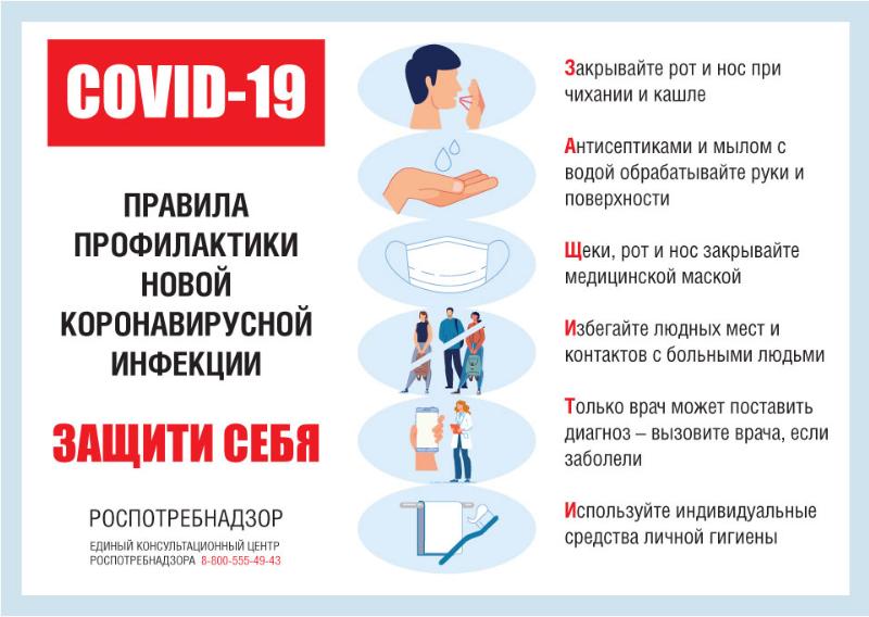 Памятка для взрослых и детей от коронавируса 1