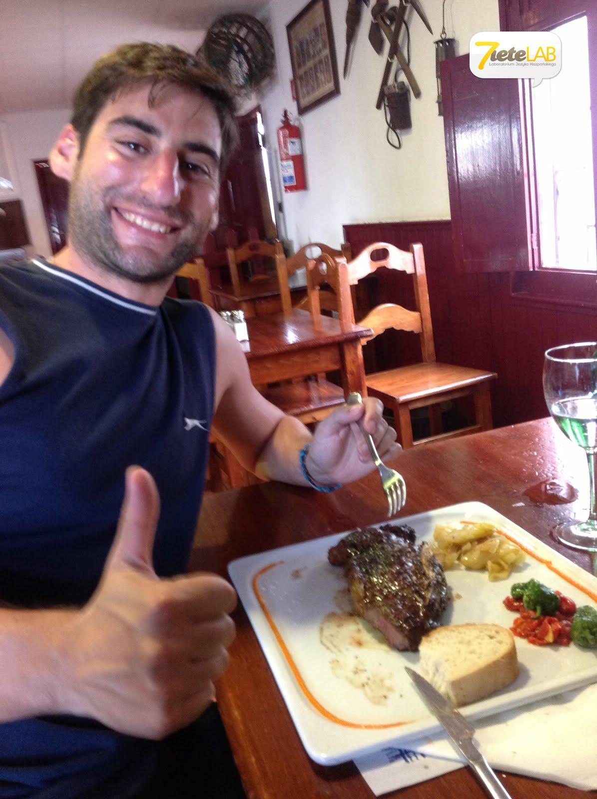7ieteLAB español - Chuletón en la Sidrería Grill Las viñas (Playa Honda)