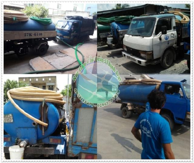 Dịch vụ rút hầm cầu quận 3 giá rẻ và chuyên nghiệp tại Thịnh Đạt