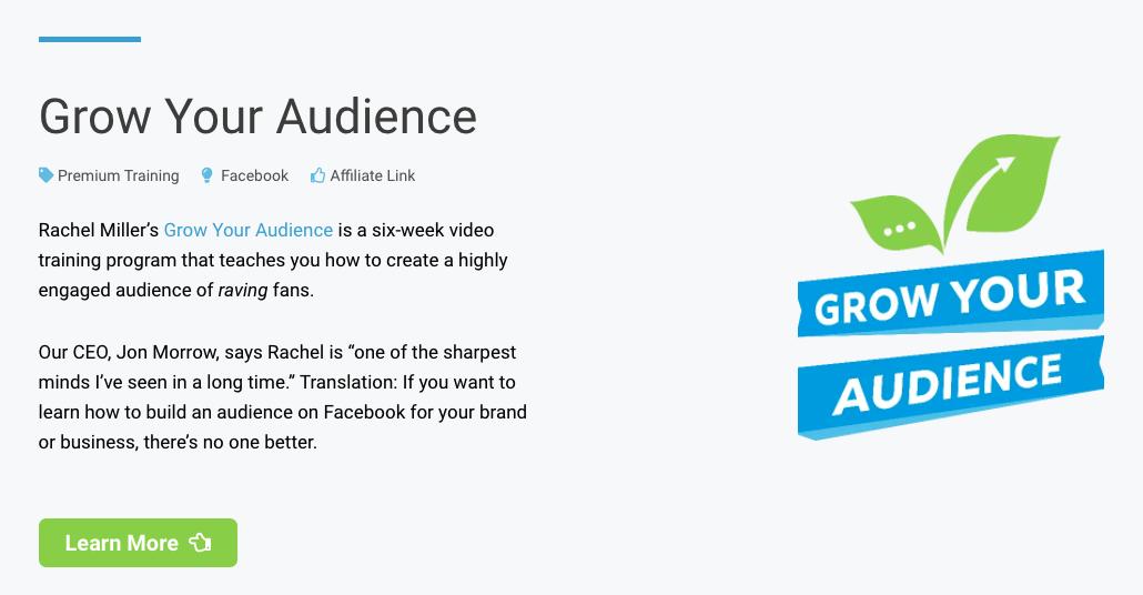 grow you audience
