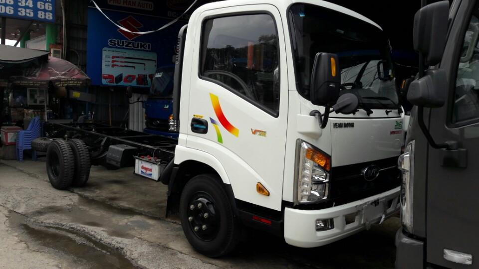 Bán xe veam 1 tấn 9/ 1T9/ VT200 thùng kín hỗ trợ vay ngân hàng 80% không cần chứng minh thu nhập