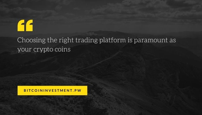 choosing a crypto exchange