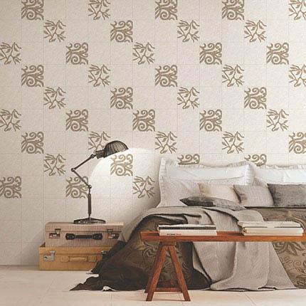 Gạch ốp tường phòng ngủ đơn giản