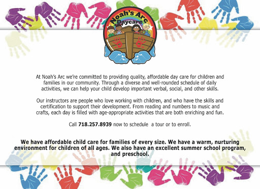 Noah\'s Arc Day Care LLC. - Group Family Day Care