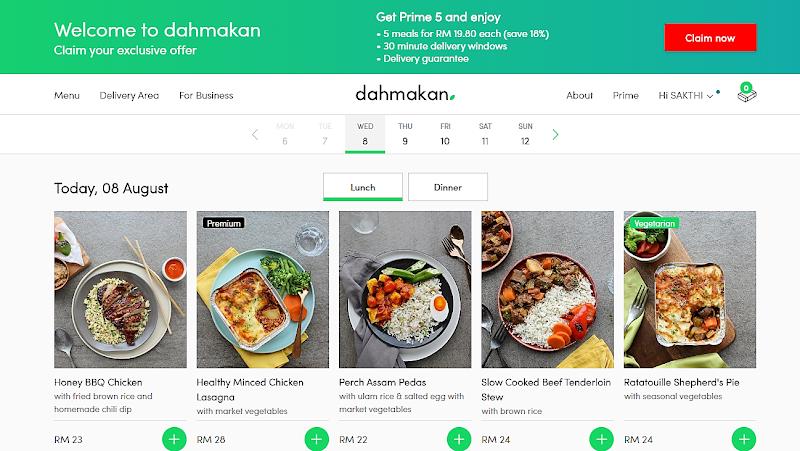 5 Perkhidmatan Penghantaran Makanan yang Anda Boleh Pesan secara dalam talian di KL