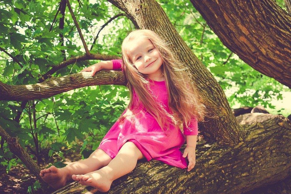 Girl, Child, Children, Toddler, Youth, Summer, Play