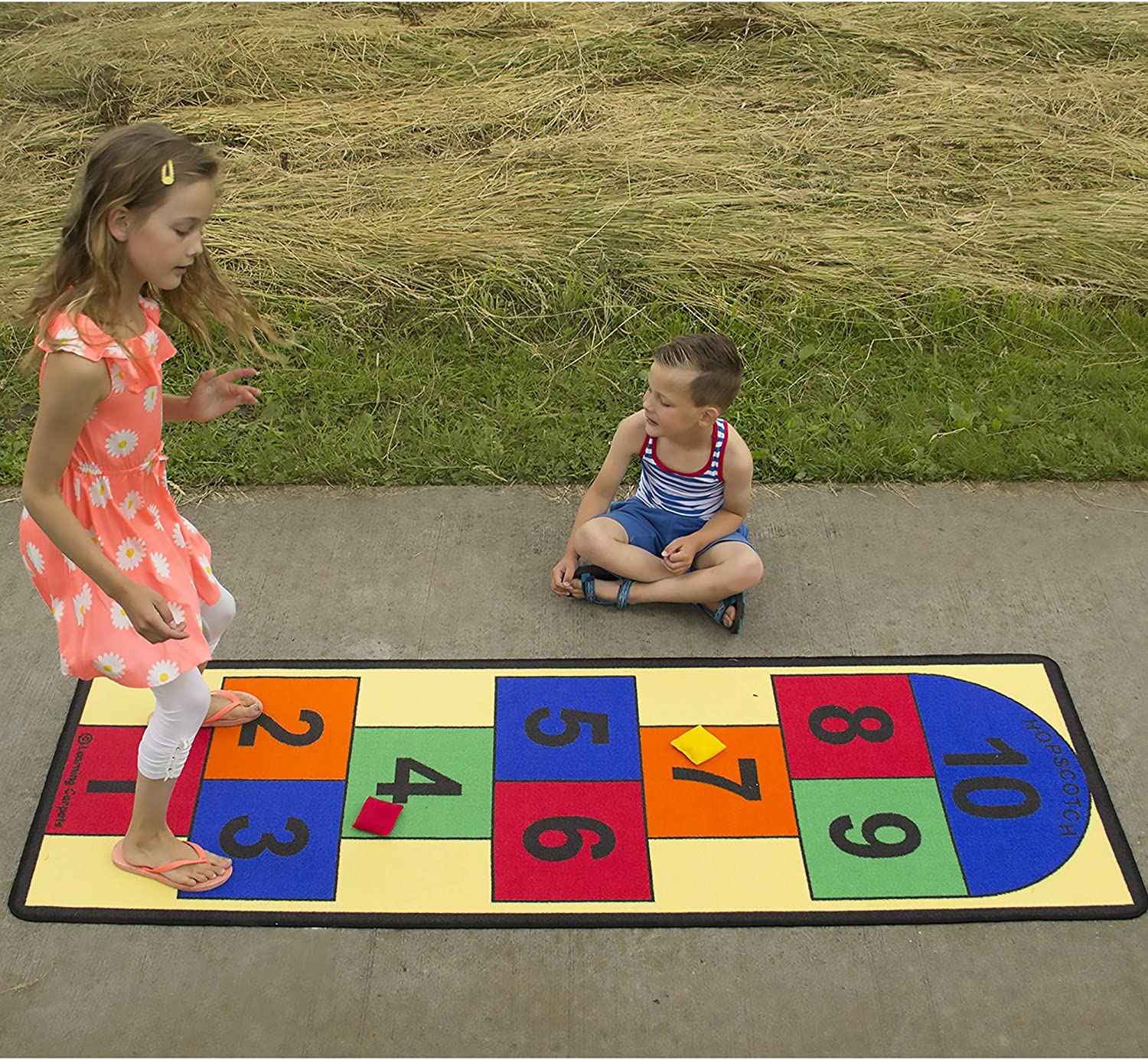 Hopscotch Learning Rugs For PlayRoom