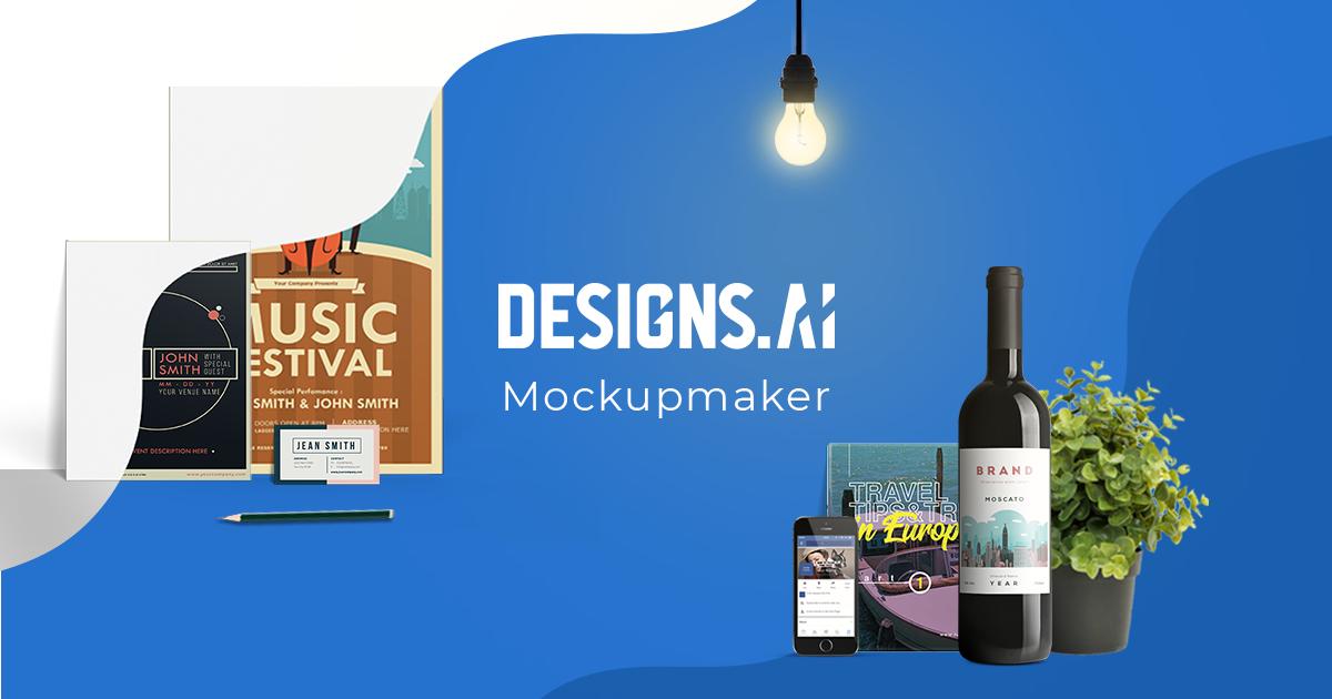 Designs.ai Mockupmaker