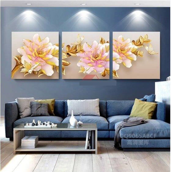 Tận dụng ánh sáng nhân tạo để nổi bật giá trị thẩm mỹ của bức tranh treo tường