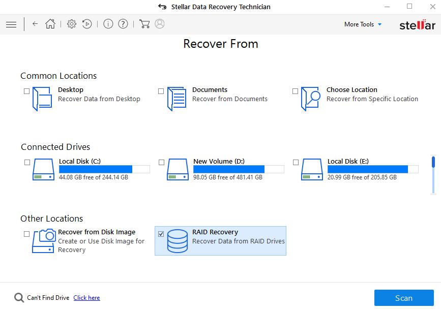 C:\Users\taranjeet.kaur\Desktop\Screenshots SDR Technician\Screenshots SDR Technician\English\2-stellar-data-recovery-technician-select-location.png