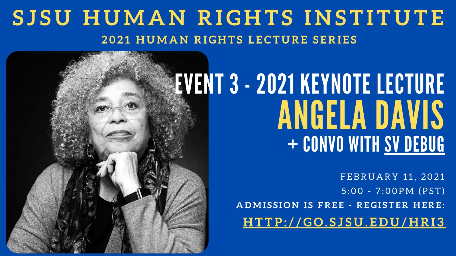 Angela Davis Keynote Address