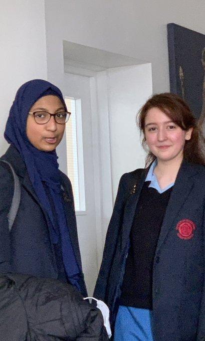 Hanan and Diyora.